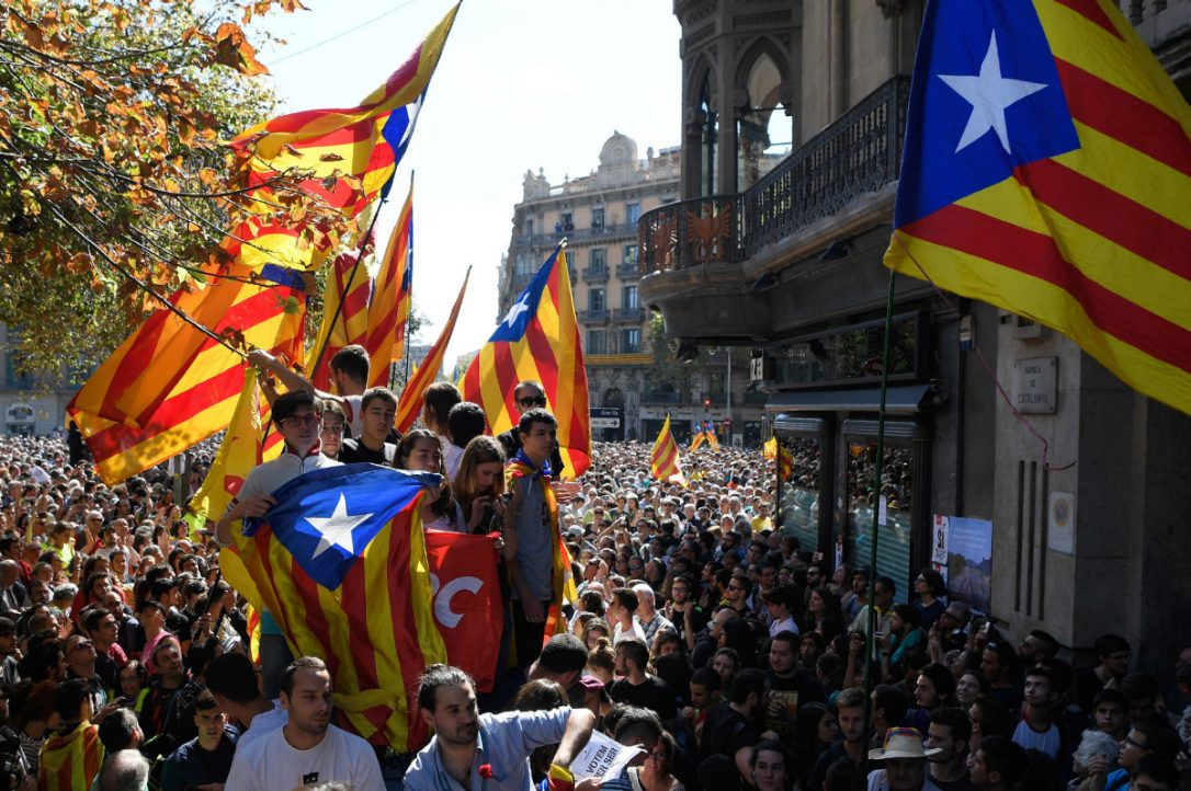 Tensions Rise Between the Spanish Goverment and Catalonia
