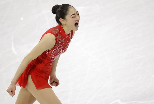 Figure Skater Mirai Nagasu Is The First American Woman To Land A Triple Axel At The Olympics