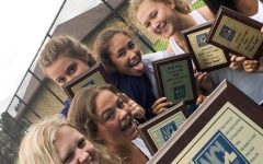Girls' tennis: new coach, new atmosphere, same successful team
