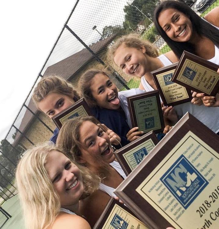 Girls' tennis: new coach, new atmosphere, same successful team