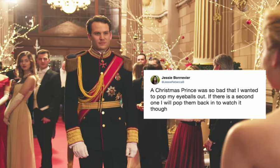 Netflix's Christmas cheesy romance movie strikes again