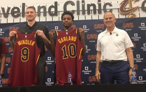 The old and new blend together for the Cleveland Cavaliers