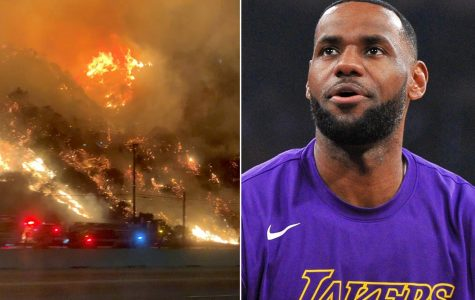 Lebron James and family evacuated from home as wildfires continue to blaze across southern California