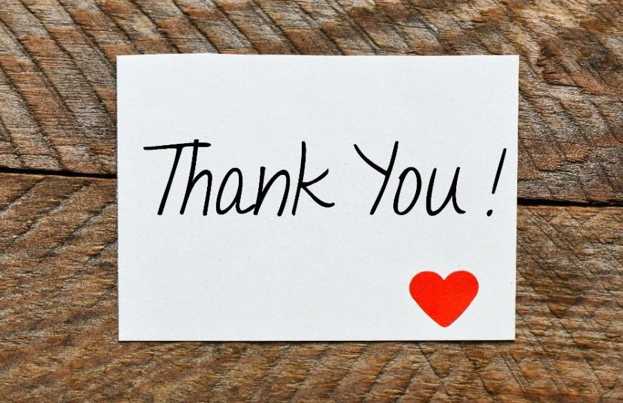 "The importance of saying ""thank you"""