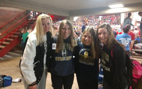 Hoban girls swim program sends relay team to states