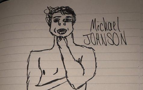 A portrait of the Visor's own Michael Johnson