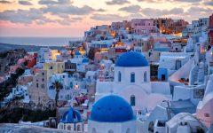photo of Santorini, Greece via Earth Trekkers