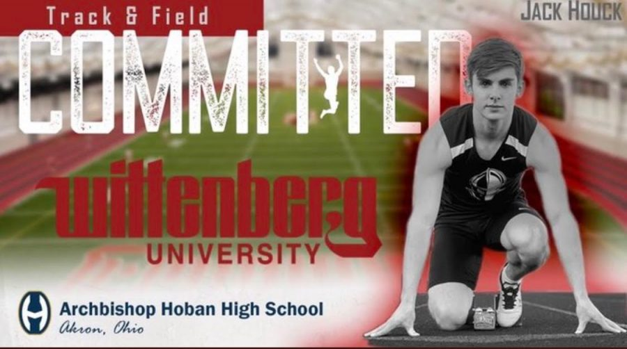 Track star Jack Houck commits to Wittenberg